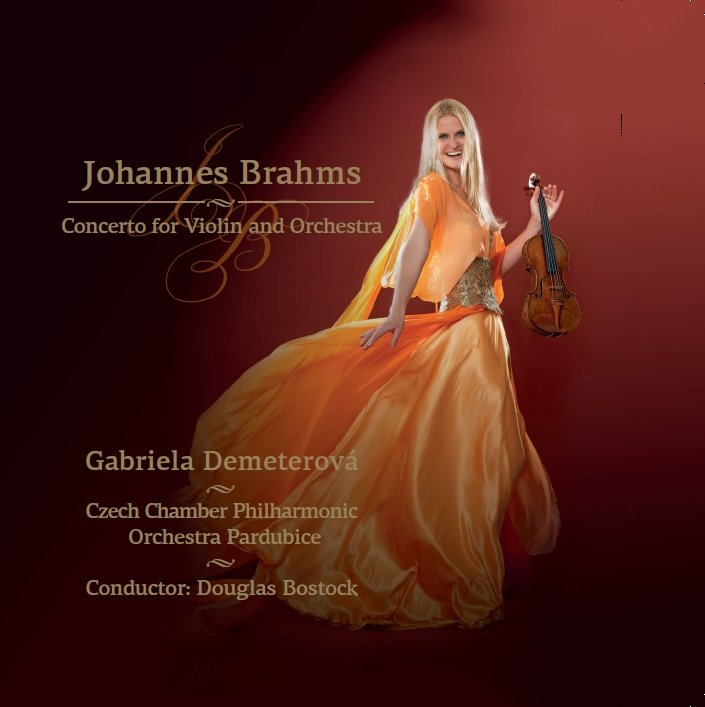 JOHANNES BRAHMS: CONCERTO FOR VIOLIN AND ORCHESTRA